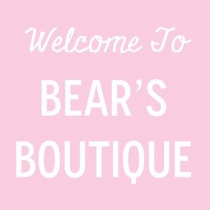 WELCOME TO BEARS BOUTIQUE ❤️